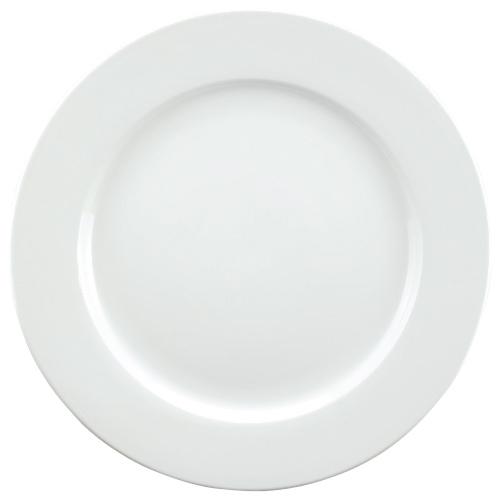 Tannex White Tie Dinner Plate - White