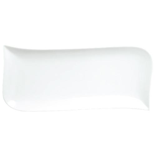 Plat ondulé Du Lait 12,4 po de Tannex - Blanc