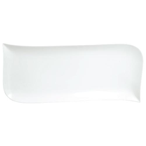 Plat ondulé Du Lait 15,75 po de Tannex - Blanc