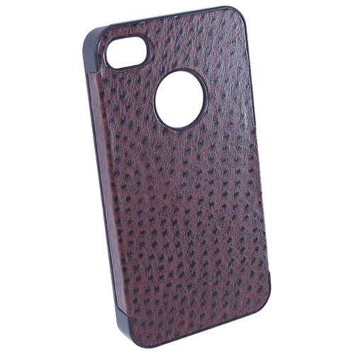 T-Tech iPhone 4/ 4S Wood Case (963) - Brown