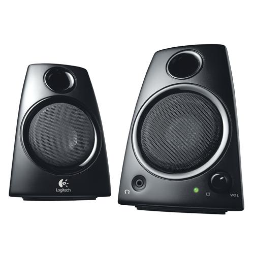 Logitech Z130 2.0 Computer Speakers - Black : Computer Speakers - Best Buy  Canada
