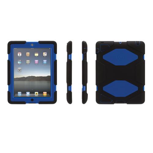 Étui Survivor de Griffin pour iPad mini 1/2 (GB35921) - Noir - Bleu