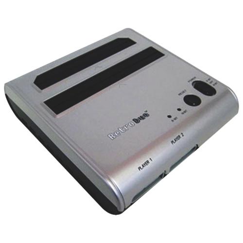 Console de jeu NES/SNES de Retro-Bit - Argenté