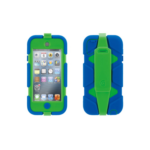 Griffin Survivor 5th Gen iPod Touch Hard Plastic Case (GB35705) - Blue