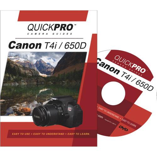 Guide DVD de l'appareil photo Canon T4i de QUICKPRO (QG1673)