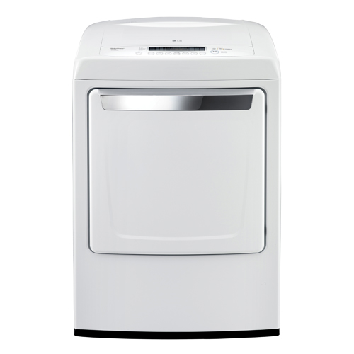 lg 73 cu ft electric dryer dle1101w white