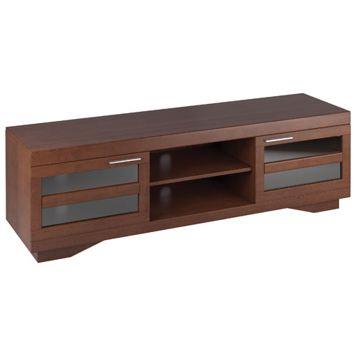 """Sonax Granville TV Stand for TVs Up To 80"""" (B-097-RGT) - Brown"""