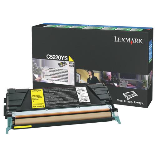 Lexmark Yellow Toner (C5220YS)