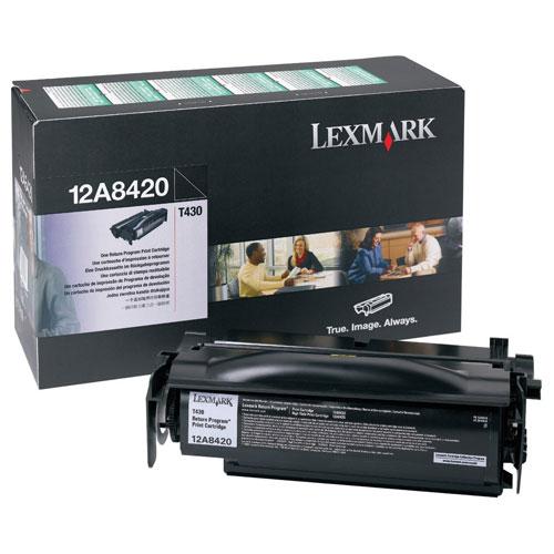 Lexmark Black Toner (12A8420)