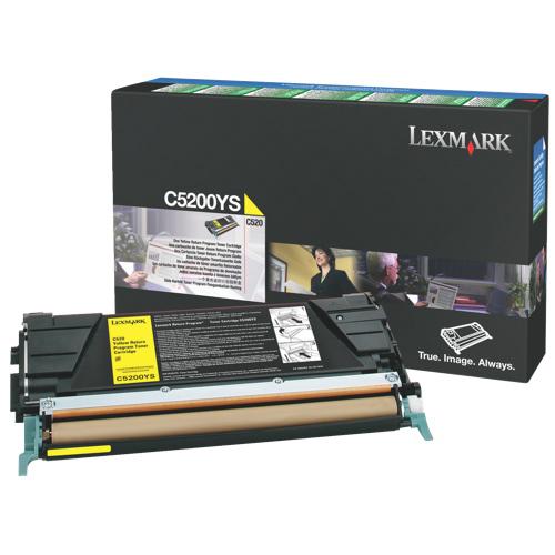 Lexmark Yellow Toner (C5200YS)