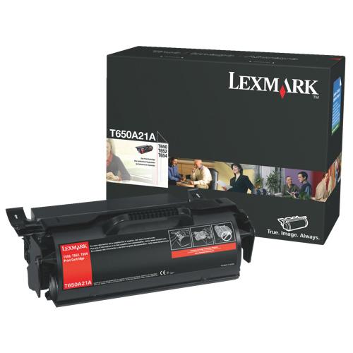 Lexmark Black Toner (T650A21A)