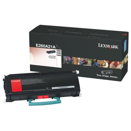Lexmark Black Toner (E260A21A)