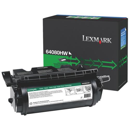 Lexmark Black Toner (64084HW) - Refurbished