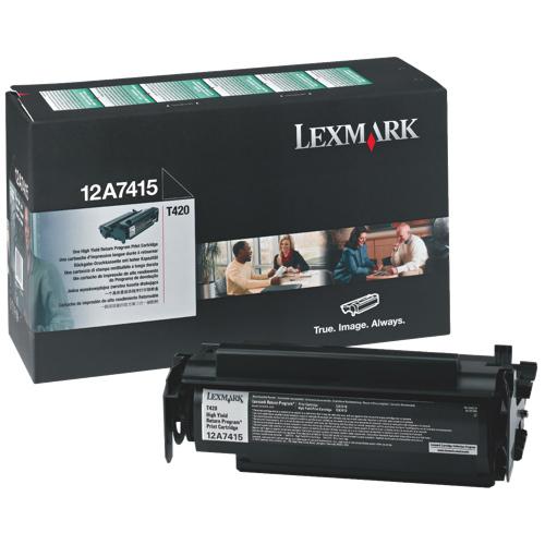 Lexmark Black Toner (12A7415)