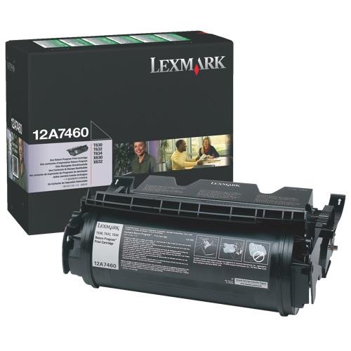 Lexmark Black Toner (12A7460)