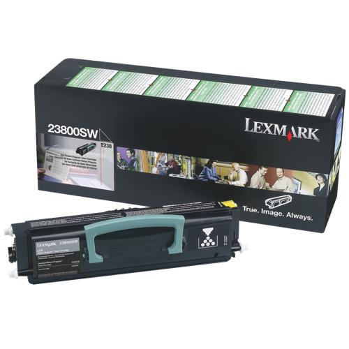 Cartouche de poudre d'encre noire de Lexmark (23800SW)