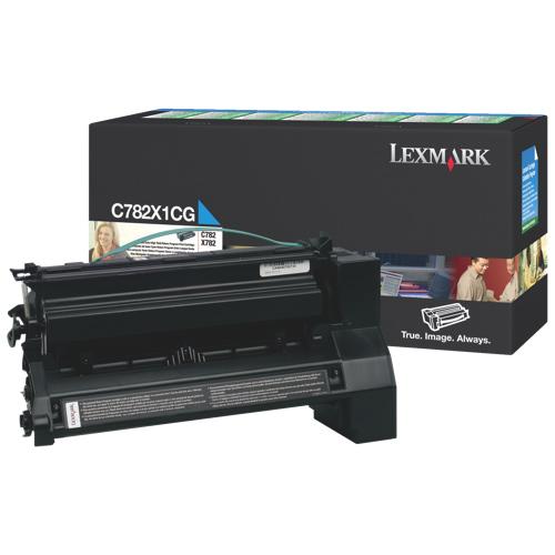 Lexmark Cyan Toner (C782X1CG)