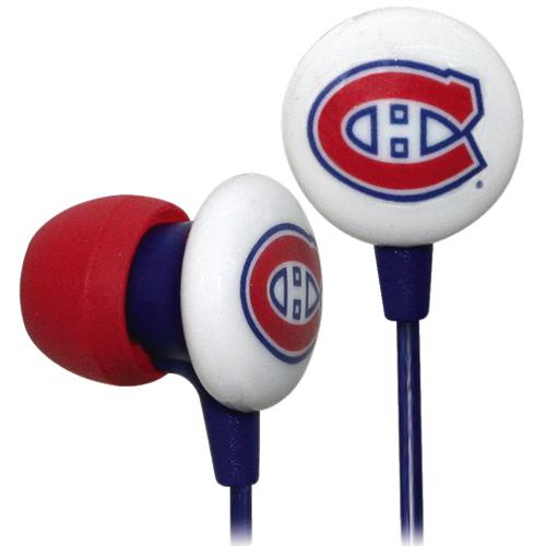 Écouteurs intra-auriculaires d'iHip (IHPH10200MC) - Canadiens de Montréal