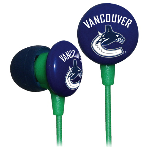 iHip In-Ear Headphones (IHPH10200VC) - Vancouver Canucks