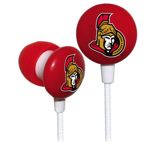 iHip In-Ear Headphones (IHIP10200OS) - Ottawa Senators