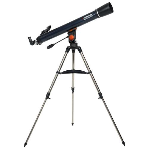 Celestron 21063 AstroMaster 90AZ 90 x 1000mm Refractor Telescope