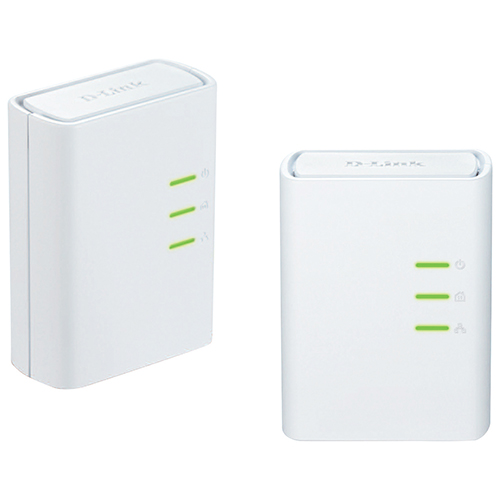 D-Link PowerLine AV500 Mini Adapter Starter Kit (DHP-309AV)