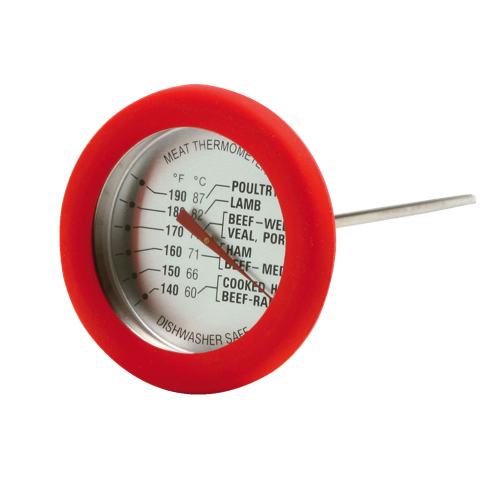 Norpro Meat Thermometer (5978) - Red