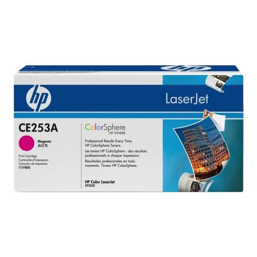 Cartouche de poudre d'encre magenta LaserJet 504A de HP (CE253A)