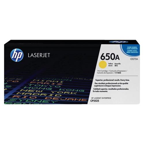 HP LaserJet 650A Yellow Toner (CE272A)