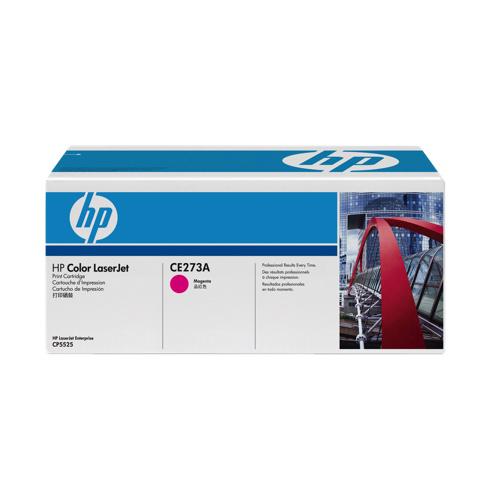 Cartouche de poudre d'encre magenta LaserJet 650A de HP (CE273A)