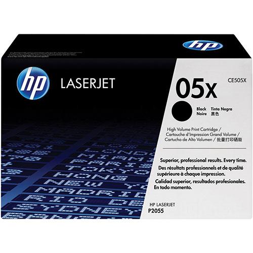 HP LaserJet Black Toner (CE505X)