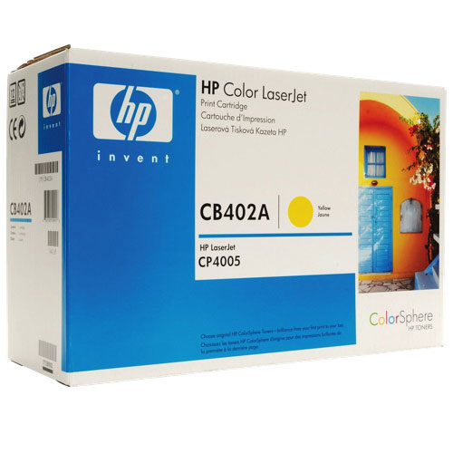 HP 642A Yellow Toner (CB402A)