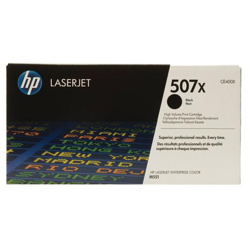 HP LaserJet 507X Black Toner (CE400X)