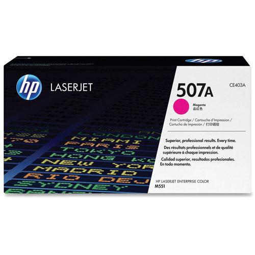 Cartouche de poudre d'encre magenta LaserJet de HP (CE403A)