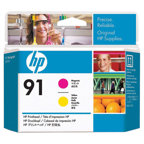 HP 91 Magenta/Yellow Ink (C9461A) - 2 Pack