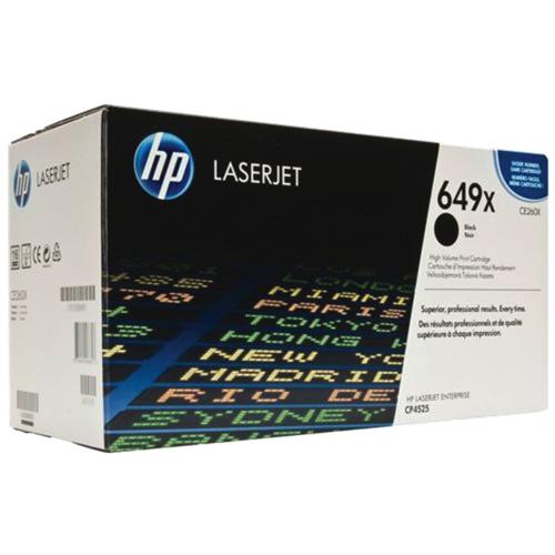HP LaserJet 649X Black Toner (CE260X)