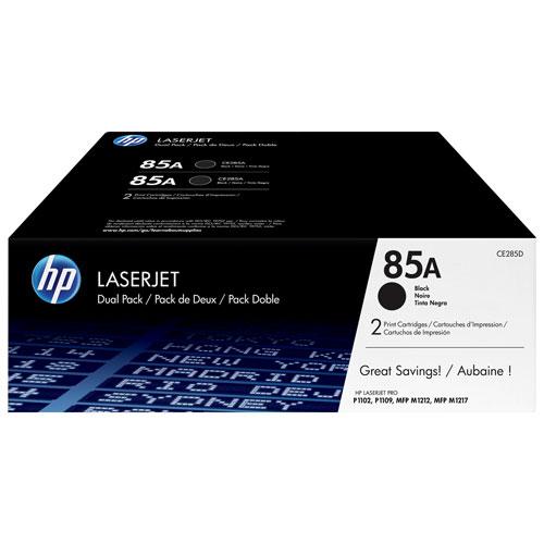 HP LaserJet 85A Black Toner - 2 Pack