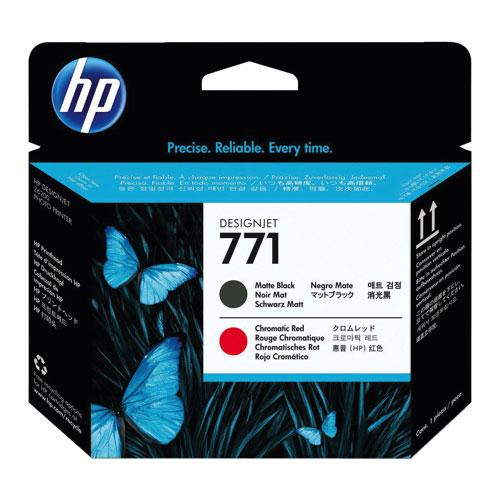 HP Designjet 771 Matte Black/Chromatic Red Toner (CE017A)