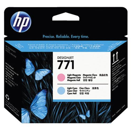 HP Designjet 771 Light Cyan/Light Magenta Toner (CE019A)