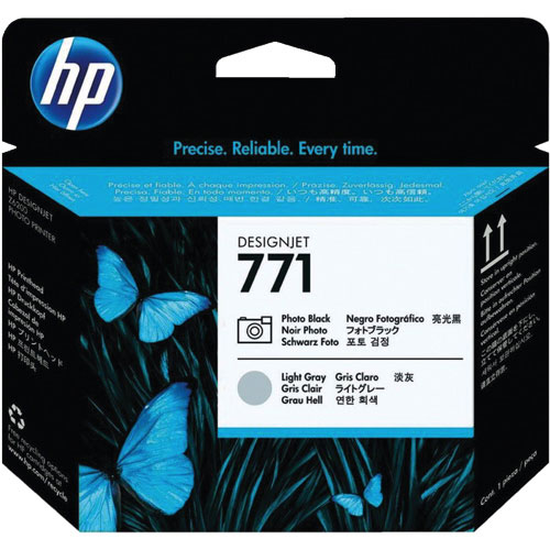 HP Designjet 771 Photo Black/Light Grey Toner (CE020A)