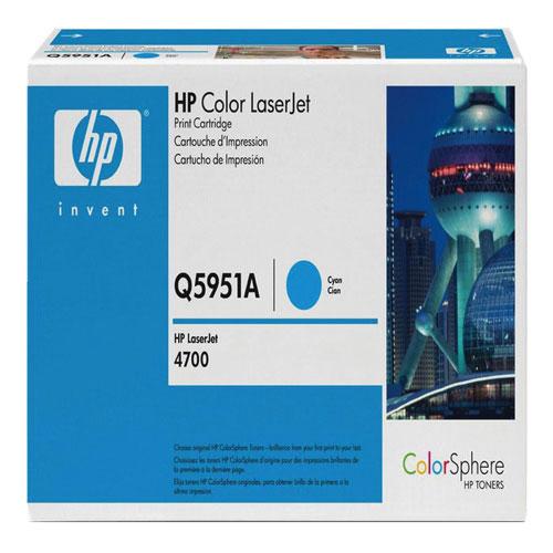 Cartouche d'encre en poudre cyan de HP (Q5951A)