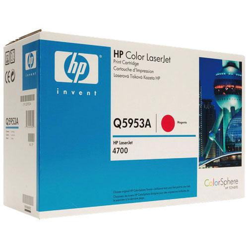Cartouche d'encre en poudre magenta de HP (Q5953A)