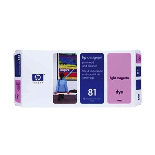 HP Designjet 81 Light Magenta Ink (C4955A)
