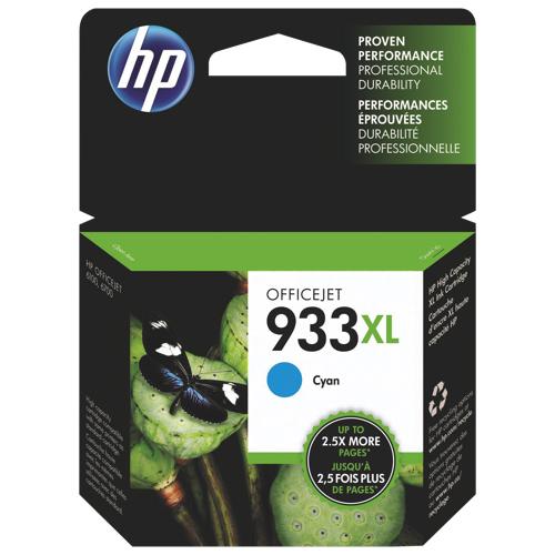 HP 933XL Cyan Ink (CN054AC140)