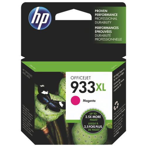 Cartouche d'encre magenta 933XL de HP (CN055AC140)