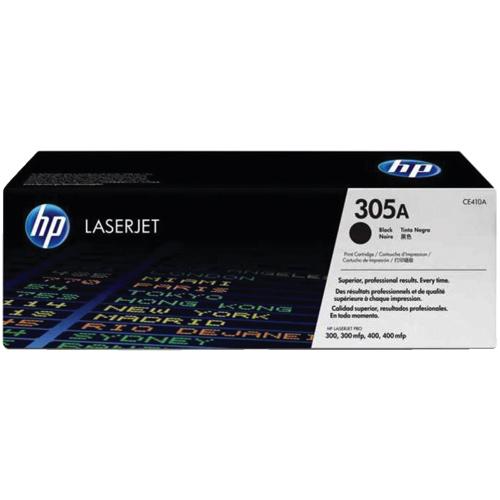 Cartouche de poudre d'encre noire 305A LaserJet de HP (CE410A)