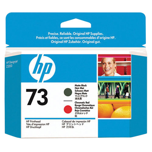 HP 73 Matte Black/Red Ink (CD949A)