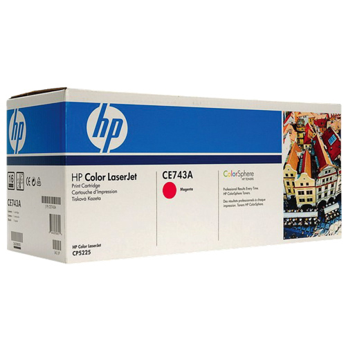 HP LaserJet 307A Magenta Toner (CE743A)