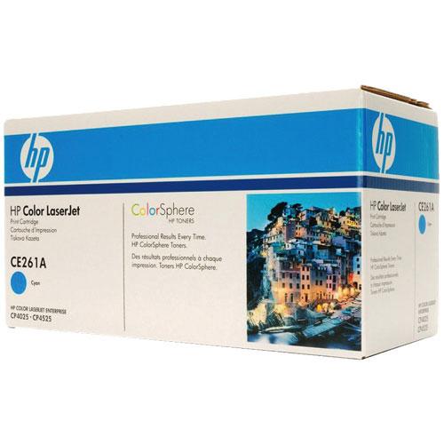 HP LaserJet 648A Cyan Toner (CE261A)