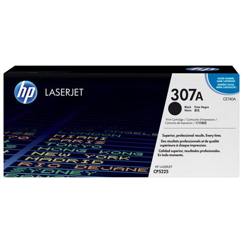 Cartouche de poudre d'encre noire 370A LaserJet de HP (CE740A)